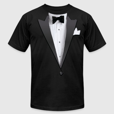 Tuxedo Jacket Costume T-shirt - Men's Fine Jersey T-Shirt