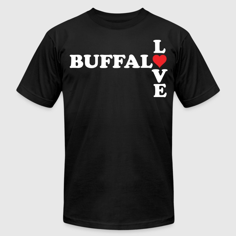 Buffalo Love Clothing Apparel Shirts - Men's Fine Jersey T-Shirt