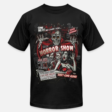 Horror Horror movie Monsters spook show - Men's Fine Jersey T-Shirt