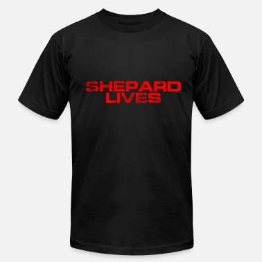 Mass Effect shepardlives - Men's  Jersey T-Shirt