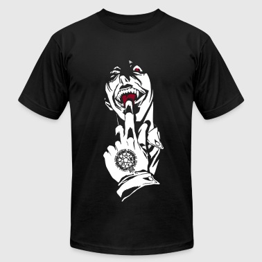 warrior vampire - Men's Fine Jersey T-Shirt
