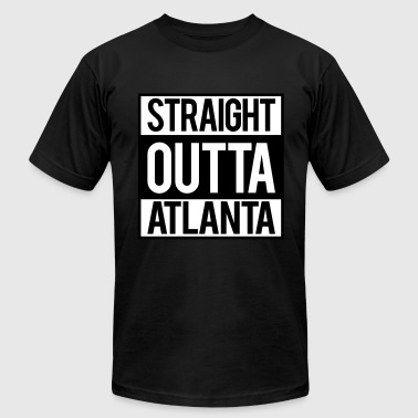 Straight Outta Atlanta - Men's Fine Jersey T-Shirt