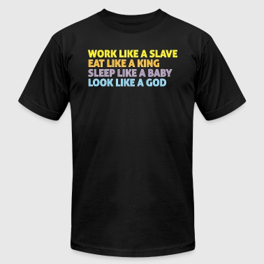 Marriage Slave Slave Work like a slave 3 - Men's Fine Jersey T-Shirt