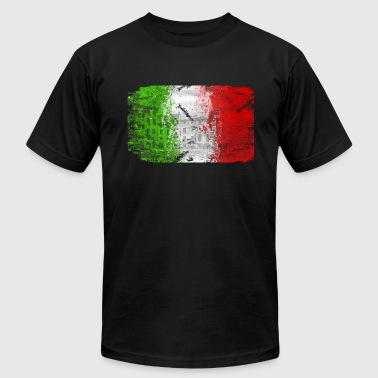 Italy Flag - Men's Fine Jersey T-Shirt