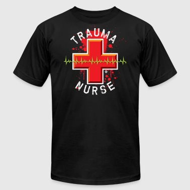 Trauma Nurse - Men's Fine Jersey T-Shirt