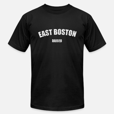 East Boston East Boston Raised Love - Men's  Jersey T-Shirt