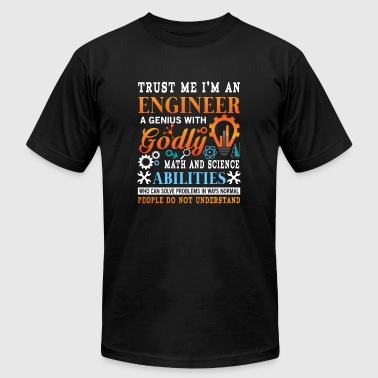 Trust me i'm a genius godly engineer  - Men's Fine Jersey T-Shirt