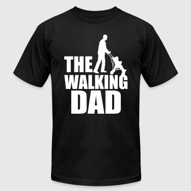 The Walking Dad funny men's shirt - Men's Fine Jersey T-Shirt