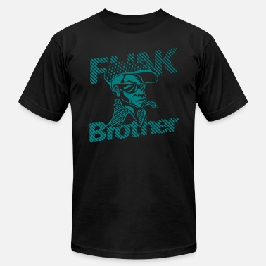 Funk Soul Brother THE ORIGINAL FUNK BROTHER  - Men's  Jersey T-Shirt