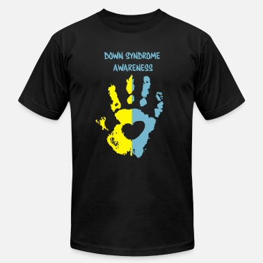 Syndrome down syndrome awareness - Men's Fine Jersey T-Shirt