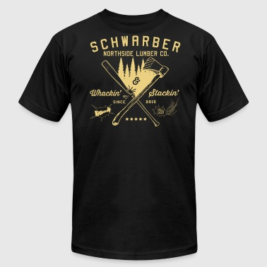 Schwarber Lumber Co_cream - Men's Fine Jersey T-Shirt