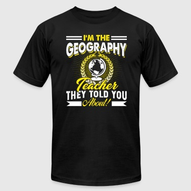 Geography Teacher T Shirt - Men's Fine Jersey T-Shirt