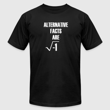 Alternative Facts Are Imaginary by Basement Master - Men's Fine Jersey T-Shirt