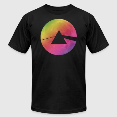 Geometric Pink Moon - Men's Fine Jersey T-Shirt
