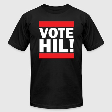 VOTE HIL! Clinton - Men's Fine Jersey T-Shirt