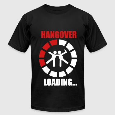 Hangover Hungover Hangover loading 2 funny - Men's Fine Jersey T-Shirt