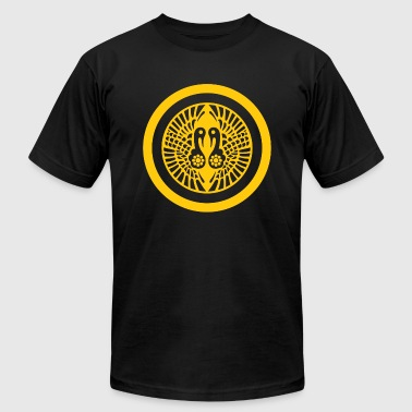 Ikko Ikki Mon Japanese clan yellow - Men's Fine Jersey T-Shirt