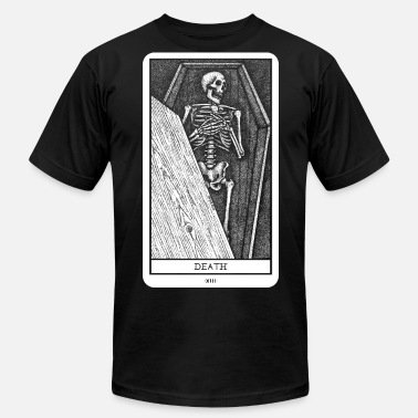 Tarot Death Card Death Tarot - Men's  Jersey T-Shirt