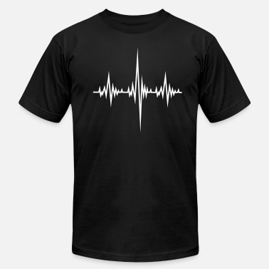 Frequency Beat Frequency Beat - Men's  Jersey T-Shirt