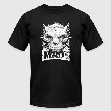 Mad Dog HORROR MAD DOG - Men's Fine Jersey T-Shirt