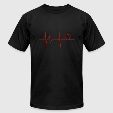 Heartbeat - Men's Fine Jersey T-Shirt