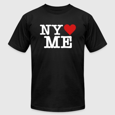 Ny Mets NY loves ME - Men's Fine Jersey T-Shirt