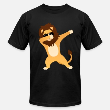 Lion With Sunglasses Dabbing Lion With Sunglasses - Gift Design - Men's  Jersey T-Shirt