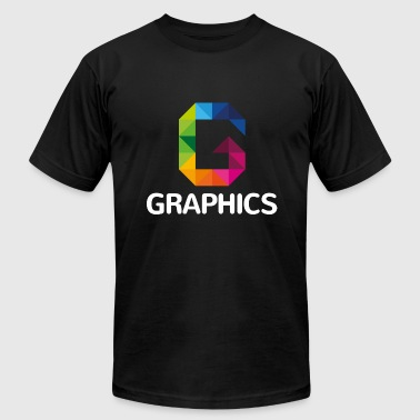 Graphically Graphics - Men's Fine Jersey T-Shirt