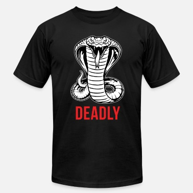 Deadly Gym Cobra - Deadly - Men's  Jersey T-Shirt