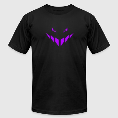 Purple Guy Evil bad guy is watching you - purple - #4 - Men's Fine Jersey T-Shirt