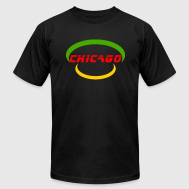 Chicago - United States Of America - Men's Fine Jersey T-Shirt