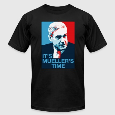 Robert Mueller It s Mueller s Time - Men's Fine Jersey T-Shirt