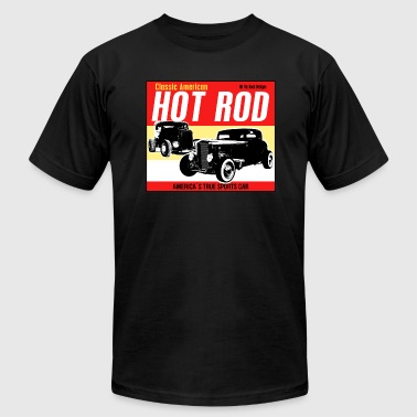 Classic American Hot-Rod. America's true sports car - Men's Fine Jersey T-Shirt