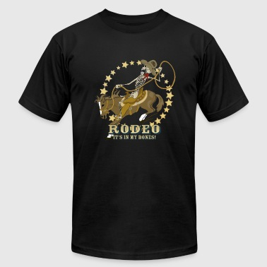 Rodeo Bones - Men's Fine Jersey T-Shirt