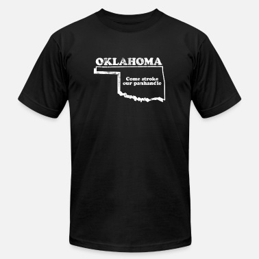 City Slogans OKLAHOMA STATE SLOGAN - Men's  Jersey T-Shirt