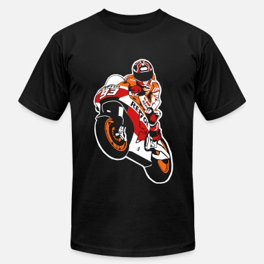 Superbike Moto-GP Racing - Men's Fine Jersey T-Shirt