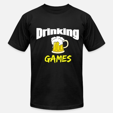 Drinking Game Drinking Games - Men's Fine Jersey T-Shirt