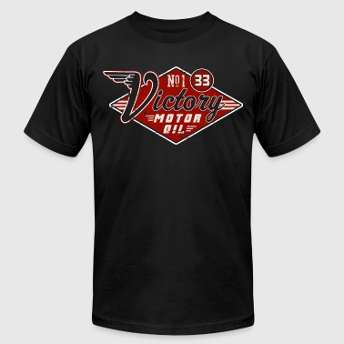 Victory Motor Oil - Men's Fine Jersey T-Shirt