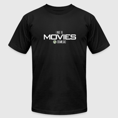 Movie Download - Men's Fine Jersey T-Shirt