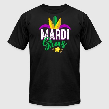 Mardi Gras 2018 - Carnival-Fat Tuesday celebration - Men's Fine Jersey T-Shirt