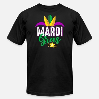 Creole Mardi Gras 2018 - Carnival-Fat Tuesday celebration - Men's  Jersey T-Shirt
