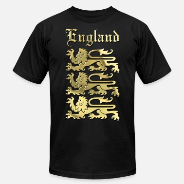 Three Lions Royal Arms of England - Men's  Jersey T-Shirt