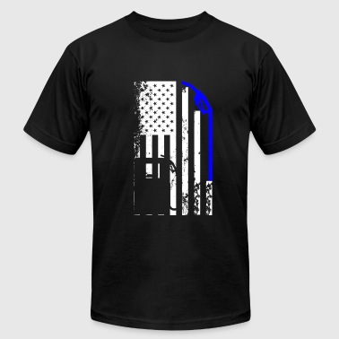 Diesel Mechanic Flag Tee - Men's Fine Jersey T-Shirt