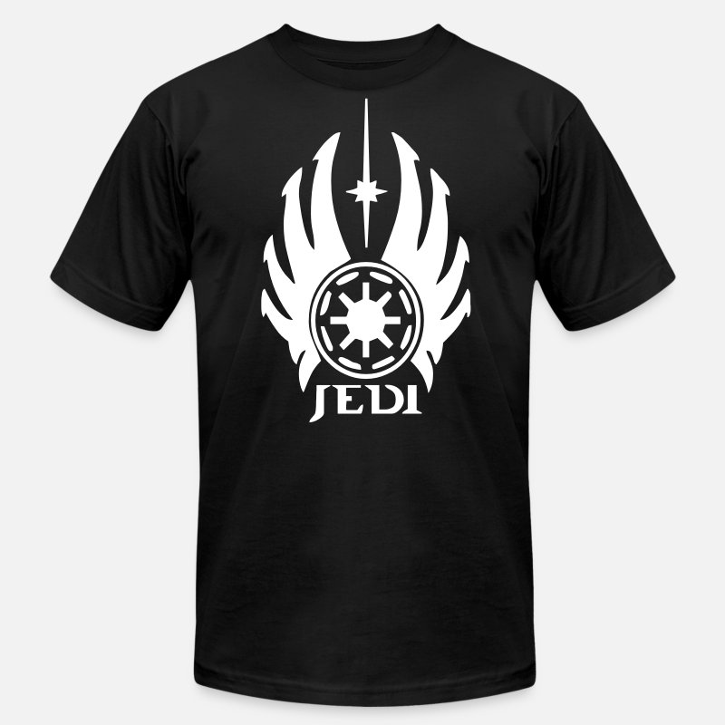 Chewbacca T-Shirts - Jedi Logo - Men's Jersey T-Shirt black