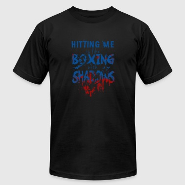 Ashe Lol LOL - Hitting me is like boxing with shadows - Men's Fine Jersey T-Shirt