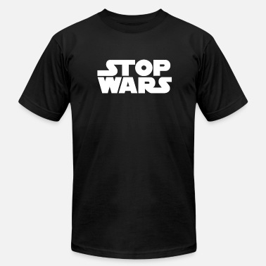 Wars STOP WARS - Men's Fine Jersey T-Shirt