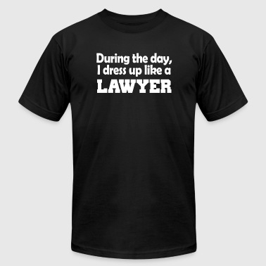 Sailor Moon Apparel Guard - during the day i dress up like a lawyer - Men's Fine Jersey T-Shirt