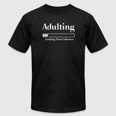 Highschool Adulting Graduation - Adulting Graduation High - Men's Fine Jersey T-Shirt