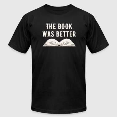 Book - The book was better - Men's Fine Jersey T-Shirt