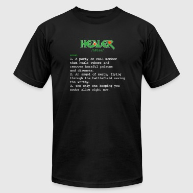 Healer - Healer Definition - Healer Meaning - Fu - Men's Fine Jersey T-Shirt